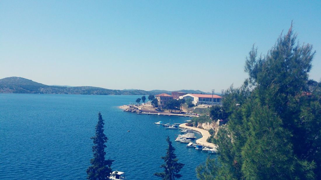 Beautiful Day My Beautiful Place From My Point Of View My Peace Of Heaven Sibenik <3