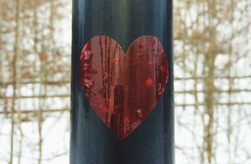 Stand Out From The Crowd Heart Follow Your Heart ♥ Sticker