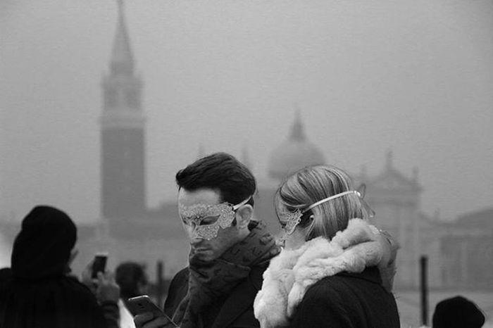 Venezia Couple Maschere