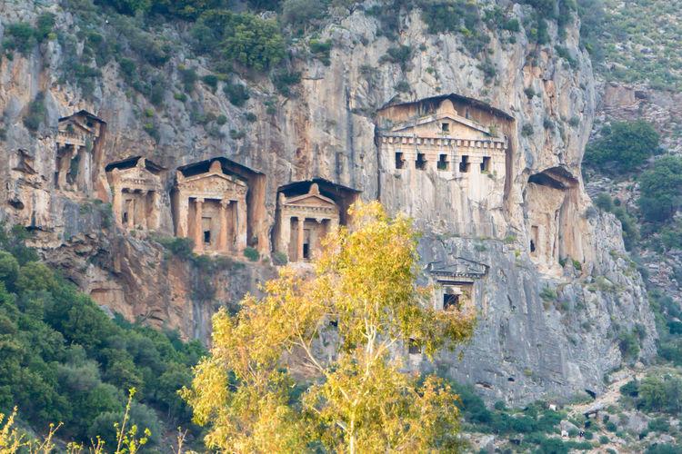 Köyceğiz Lycian Tomb Travel Mugla Tourism Turkey Kaunos Dalyan Lycian Tomb Naturelovers Nature Photography Nature_collection Trees