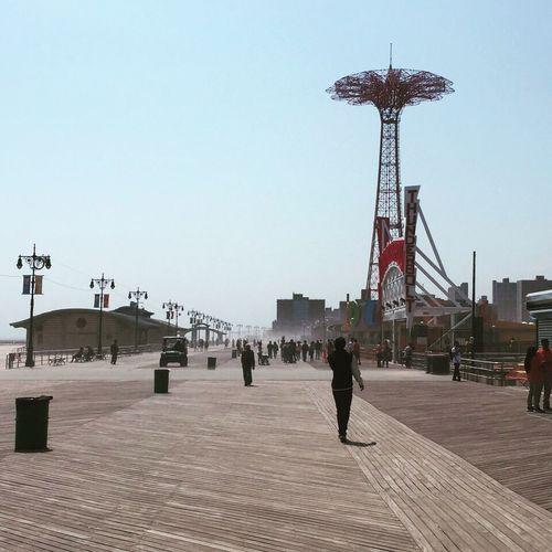 Coney Island Boardwalk New York Brooklyn Coney Island / Brooklyn NY NYC Photography NYC