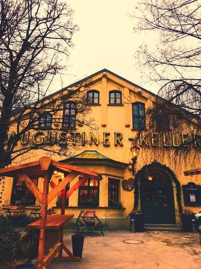 Augustiner Outdoors Façade Augustiner Wirtshaus EyeEmNewHere