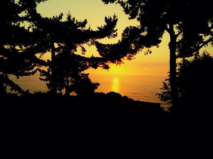 Sunset en Cantagua, Chile