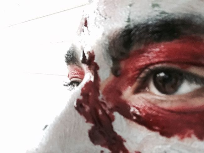 Halloween Happy Halloween Blood Scars