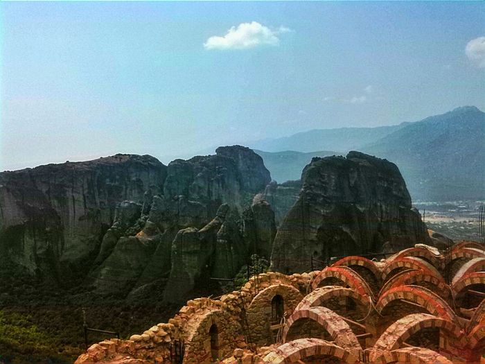 Greece Mountains Blue Sky Summer Tripping Chilling more photos comming soon 👑📷👌💪