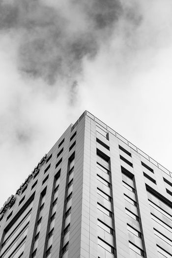 black and white of a skyscraper in auckland new zealand Architecture Auckland City Apartment Architecture Black And White Building Building Exterior Built Structure City Cloud - Sky Day Low Angle View Modern Nature New Zealand No People Office Office Building Exterior Outdoors Pattern Sky Tall - High Window The Architect - 2018 EyeEm Awards