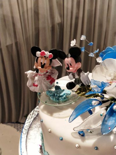 childhood icons!! Mickey Mouse Minnie Mouse EyeEm Selects Figurine  No People Indoors  Arts Culture And Entertainment Close-up Day