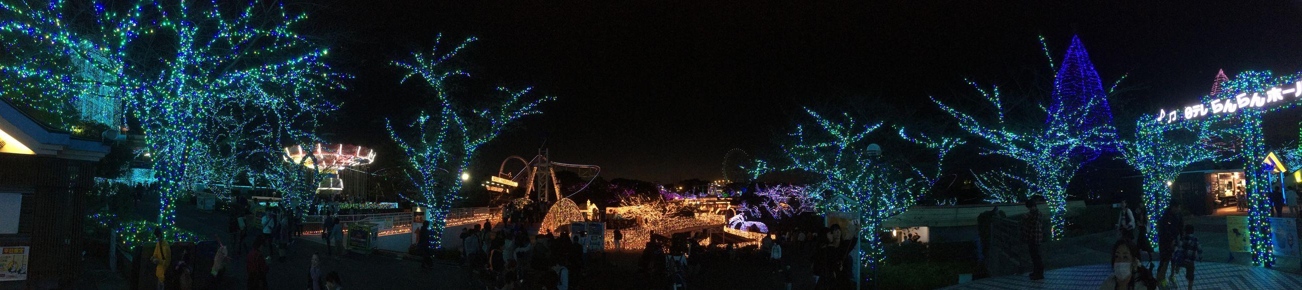 よみうりランド! Panorama Nightphotography Night View