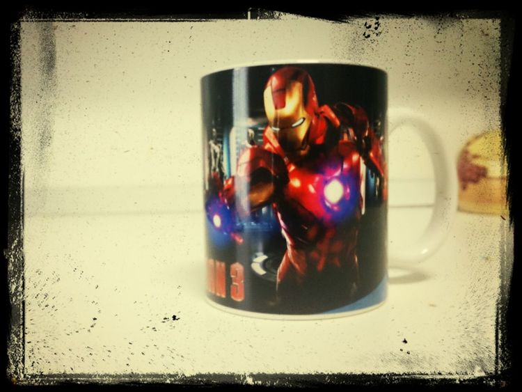 Mi Taza de Iron Man 3
