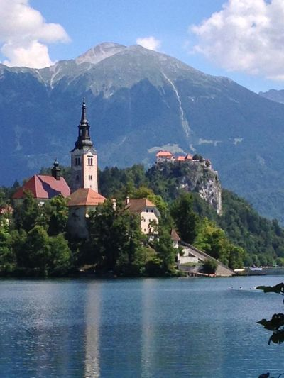 Lake Bled Bled Lake Bled Church Island Lake Lake In Mountains Most Sold Pic Slovenia Bled Castle Castle And Church Lake Alps Mountains Mike In Slovenia