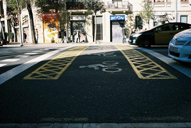 Walk This Way Kodak Portra 35mm Film Film Barcelona Streetphotography Walking
