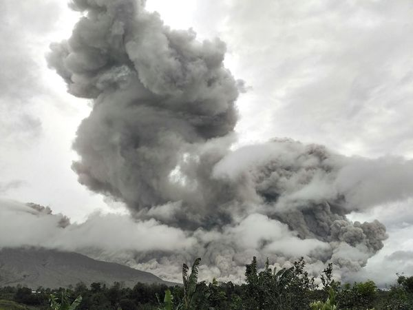 Social Issues Cloud - Sky No People Tree Extreme Weather Day Cyclone Outdoors Sky Eruption Mountain Sinabung