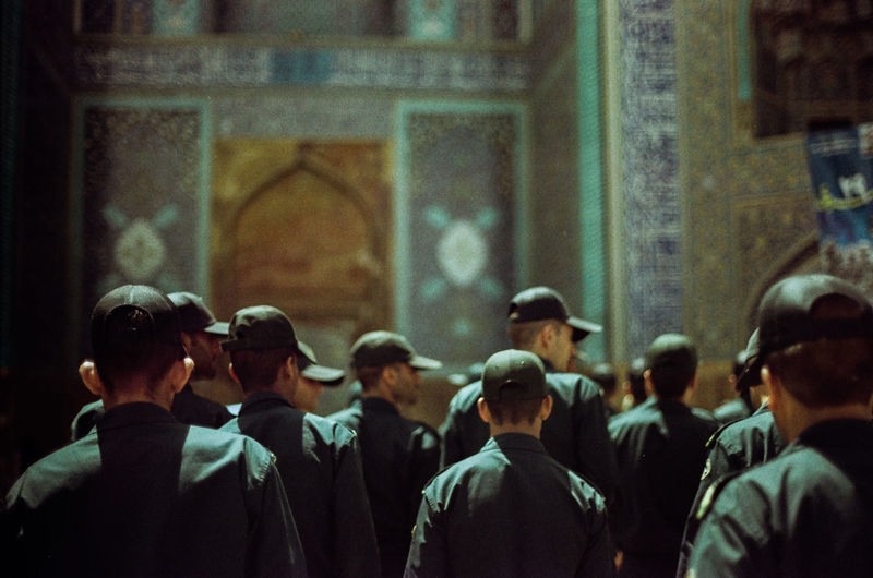"""X""Film Analog 35mm Canon AE1 Grain Fujifilm Documentary Documentary Photography Art Street Photography Iran Esfahan Filmphotography Filmcamera Analogue Analog Photography Analogue Photography Photography Color Outdoors Man Soldiers Soldierlife Soldier Living"