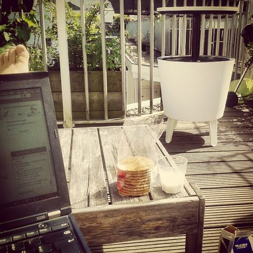 Lunchbreak Rooftop Homeoffice Amsterdam Traveladdict Wanderlust Officelife
