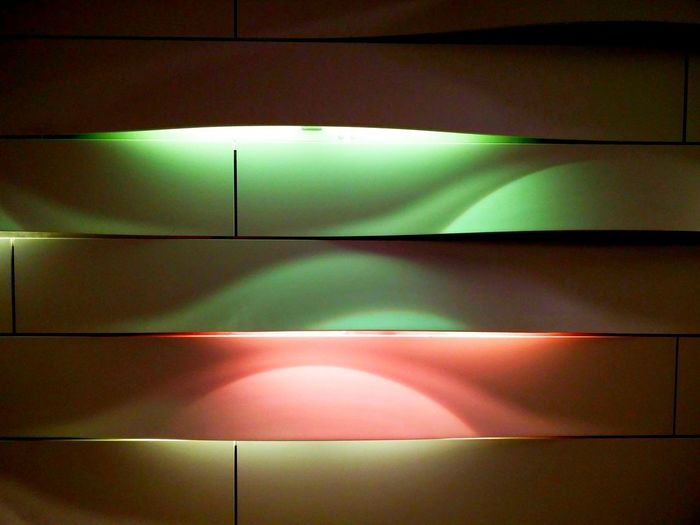 Abstract Photography Abstract Backgrounds Built Structure Close-up Colour Blocking Full Frame Illuminated Lighting Equipment Minimalism No People Pattern Simplicity Wall Wall - Building Feature
