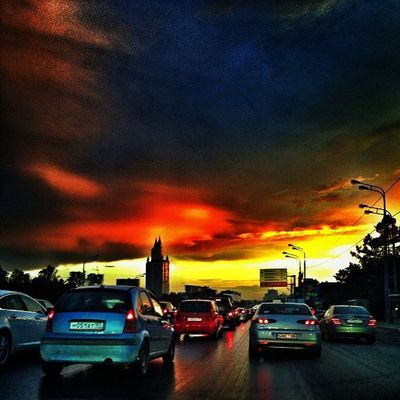 Nice picture from Moscow