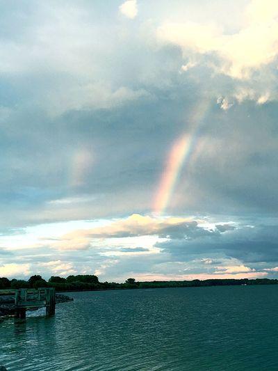 Rainbow EyeEm GoodEye Photography Nature Photography Nature Lake View Lake SenecaLake Photo