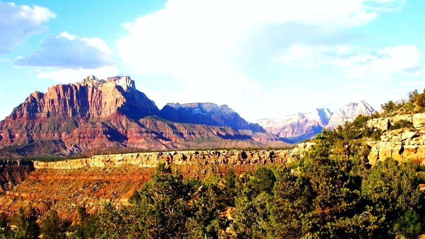 Utah's Beautiful Outback Mountain Nature Scenics Rural Scene Landscape Outdoors Beauty In Nature
