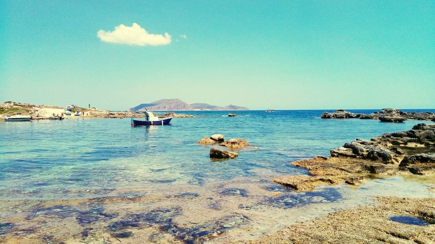 Favignana's Sea July Fisherman's Life Beauty In Nature Sicily ❤️❤️❤️
