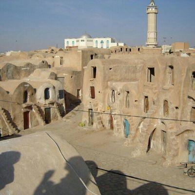 مدينه عربية تحت الارض استخدمت في تصوير Star Wares