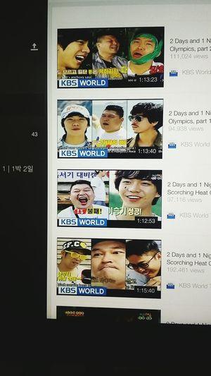 My favourite Korean reality program 2d1n 1박2일 Lee Sung Ki Korea Reality Program Funny