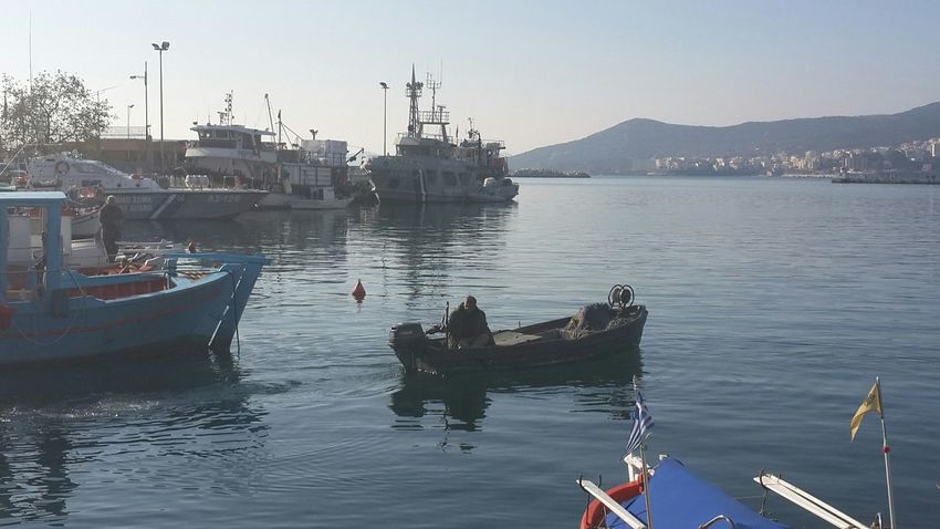 Rastgele kaptan... @ Kavala In Greece  Sea_collection Sea And Sky Nature_collection Eyeemsea Hayatandanibarettir Hayatakarken