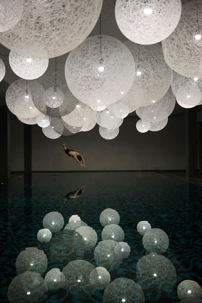 Beautiful locations arent always located outdoors! Ceiling Water Indoors  Dive