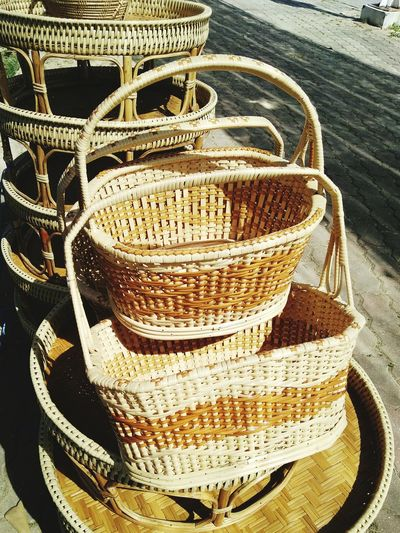 No People Outdoors Close-up Handmade Agriculture Sail Market Festival Show Basket
