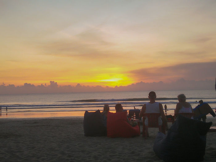 Sunset Beach Sky Nature Photography Beauty In Nature EyeEm Nature Lover EyeEm Best Shots Bali Indonesia_photography