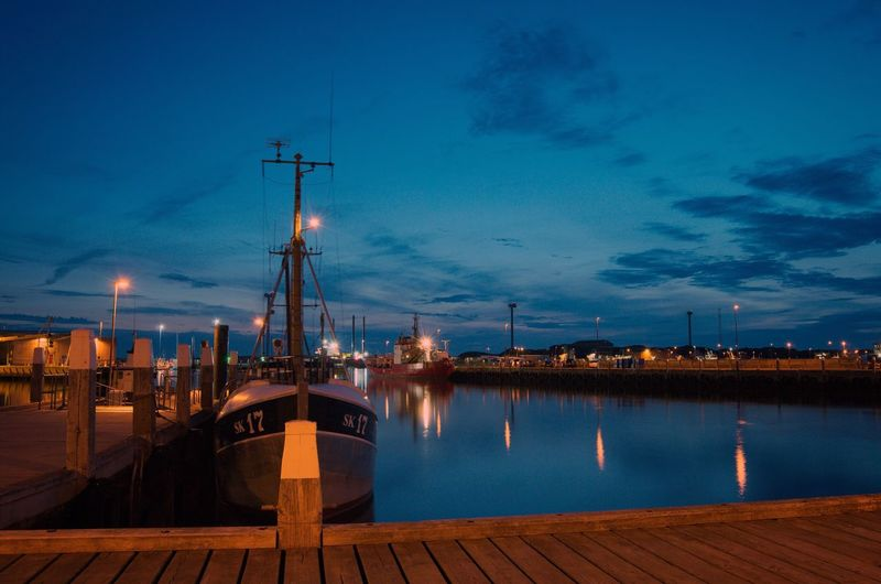 EyeEm Selects Night Harbor Water Commercial Dock First Eyeem Photo EyeEmNewHere