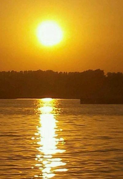 Sonnenaufgang im Urlaub in Holland