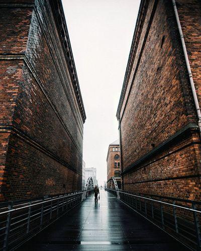 Hamburg Architecture Bridge - Man Made Structure City Built Structure @_marvn