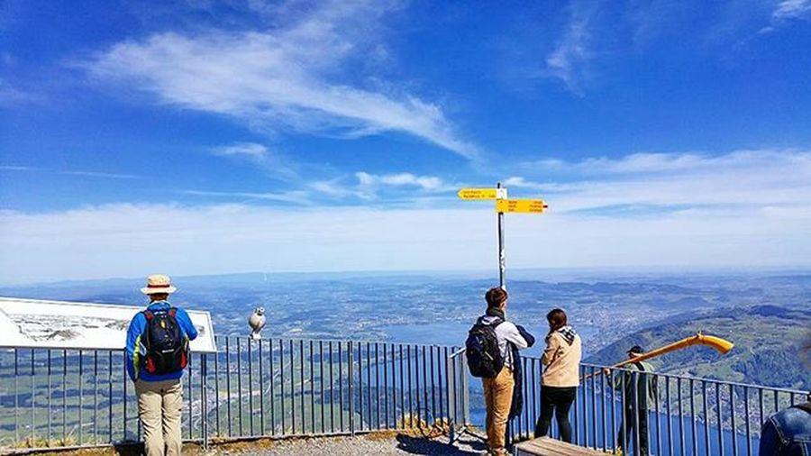 이곳에선 시야 뿐만 아니라 마음 까지 넓어진다. Lucerne Luzern Swiss Switzerland Rigi Rigikulm Tour Hiking 루체른 스위스 리기쿨룸 리기산 여행 하이킹