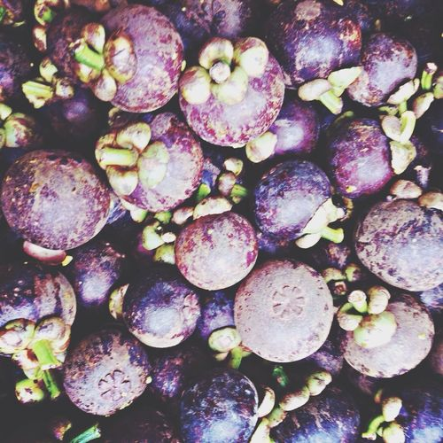 Mangosteen Fruits Purple
