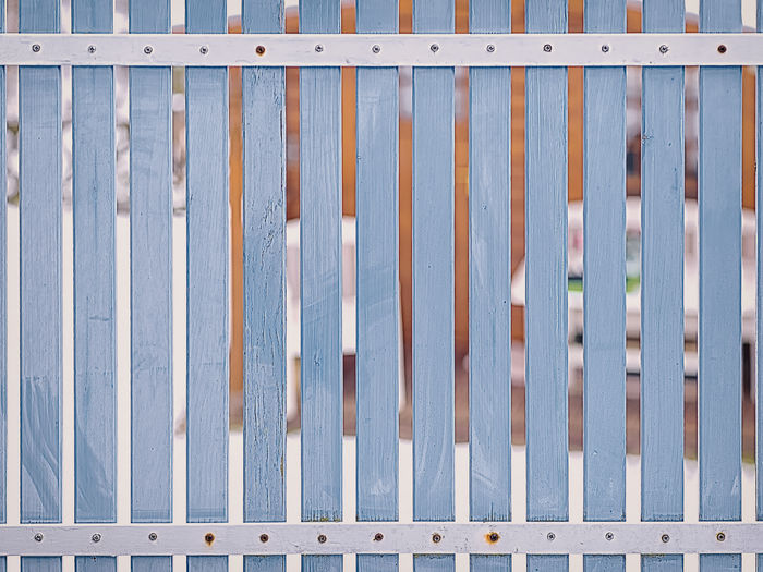 Full frame shot of metal fence