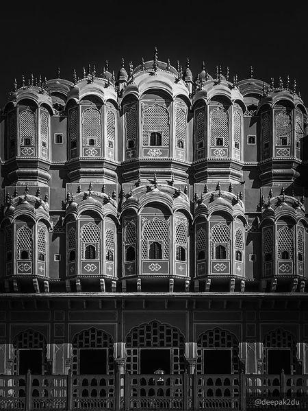#hawamahal #pinkcity #jaipur #blackandwhite Hawamahal Rajasthan Pinkcity Jaipur Historic City Historical Site Historical Buildings Historic Building Historical Place Historical Monuments Historical Historical Building Historic