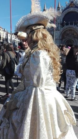 Lifestyles Women Togetherness Standing Outdoors Built Structure Sky Large Group Of People People Day Adult Architecture Masks Italy Crazy Venice, Italy Carnival Hello World Check This Out Fun Mask Venice Italy❤️ Travel Travel Destinations