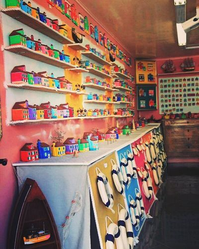 Venice, Italy Multi Colored Indoors  Graffiti Art Art And Craft Abundance Creativity Large Group Of Objects Hobbies Colorful Arrangement Choice Collection Shelf No People Memories Messy