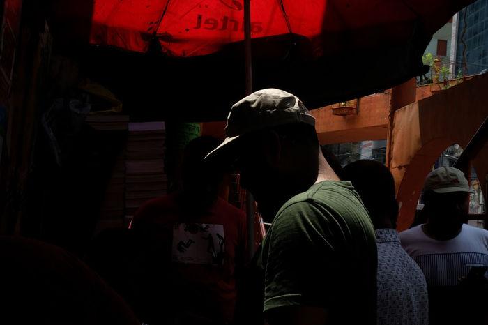 Rear View Real People People Men Adult Market Lifestyles Business Day City Streetphotography Street Light Light And Shadow Color Dhaka Bangladesh Fujifilm Fuji Fujifilm_xseries Fuji Xt20