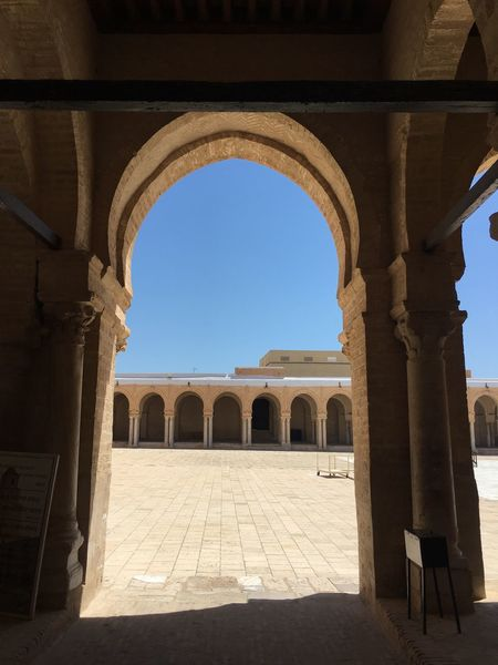 EyeEm Selects Hello Kairouan Arch Architecture History Built Structure Day Clear Sky No People Outdoors Sky