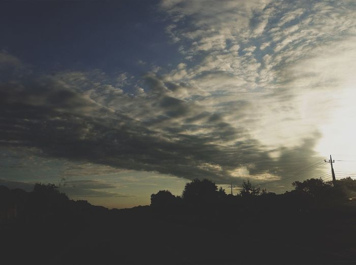 Silhouette Sky No People Sunset Nature Tree Beauty In Nature Outdoors Day VSCO Nikonphotography Nikon Vscocam Japan