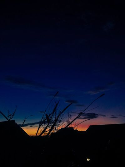 Indonesian sunset Eye Silhouette Sunset No People Sky Nature Beauty In Nature EyeEmNewHere Outdoors Night Blue