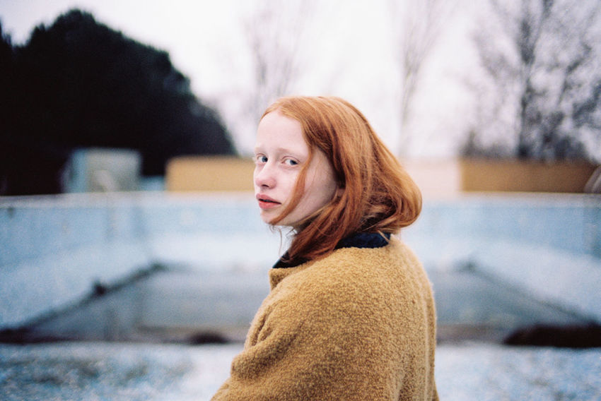 35mm 35mm Film Analogue Photography Beauty Color Colors Focus On Foreground Person Portrait Redhead Showcase July