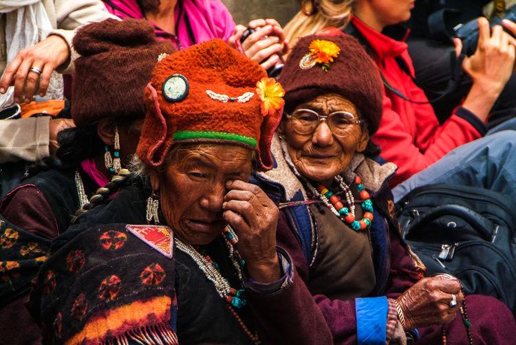 Karsha Gustor Festival at Karsha Gompa in Zanskar Valley Culture Folk Gompa India Karsha Kursha Ladakh Leh Lifestyles Padum Portrait Spirituality Traditional Clothing Travel Women Zanskar