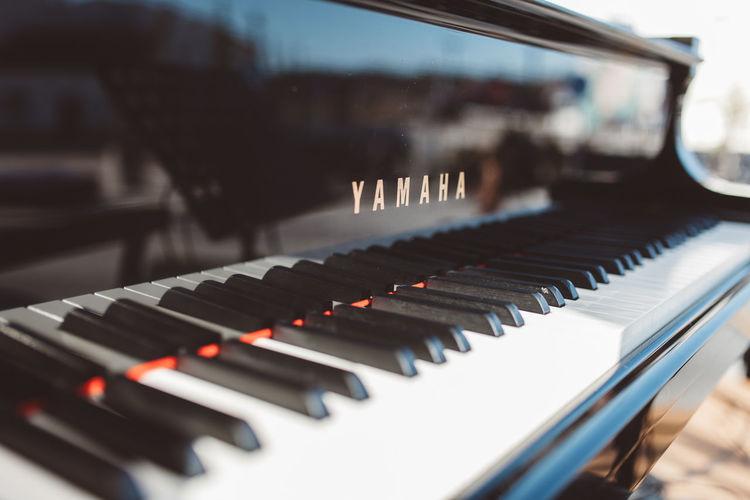 Piano Piano Lover Piano Moments Arts Culture And Entertainment Close-up Day Music Musical Equipment Musical Instrument Musical Instruments No People Orchestra Pianist Piano Piano Key Piano Keys Piano Time Yamaha Yamaha Piano