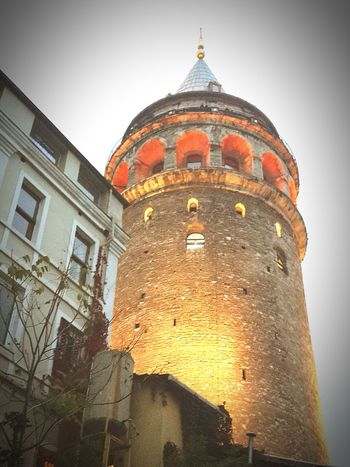 Architecture Building Exterior Built Structure Low Angle View History No People Travel Destinations Sky Outdoors Day Politics And Government Close-up Galata Kulesi , İstanbul 🌁🗼 Galata Tower In İstanbul Galatatower Galatakulesi Istanbul