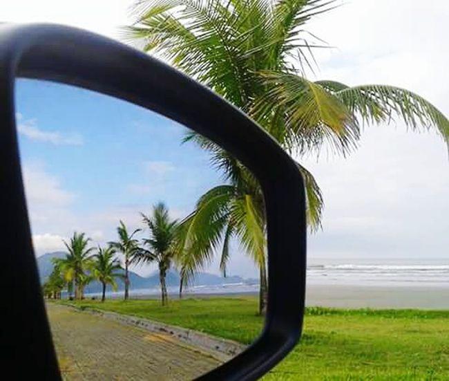 Ida e volta...show Brasil ♥ Peruíbe City Baixada Santista Lugar Perfeito Praia Perfeita Reflex Reflexo  Coqueiros