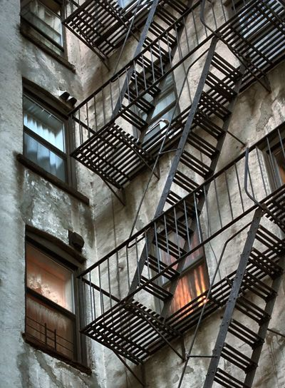 Architecture Staircase Built Structure Steps And Staircases Railing No People Low Angle View Steps Building Exterior Spiral Fire Escape NYC Photography EyeEm Best Shots Nopeople Still Life Day