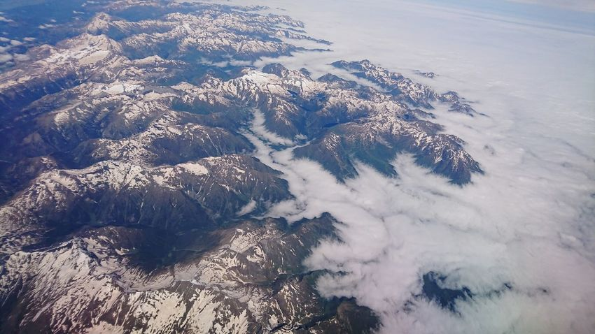 High in the sky Sony XZ Water Snow Sea Cold Temperature Winter Beach Wave Backgrounds Aerial View Mountain Satellite View Planet Earth View Into Land Physical Geography Geology Rocky Mountains Rock Formation Rugged Topography The Great Outdoors - 2018 EyeEm Awards