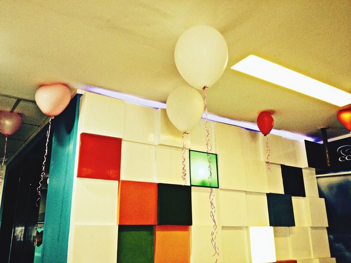 office lobby. Valentine balloons :) Happy Valentine's Day EyeEm Phillipines